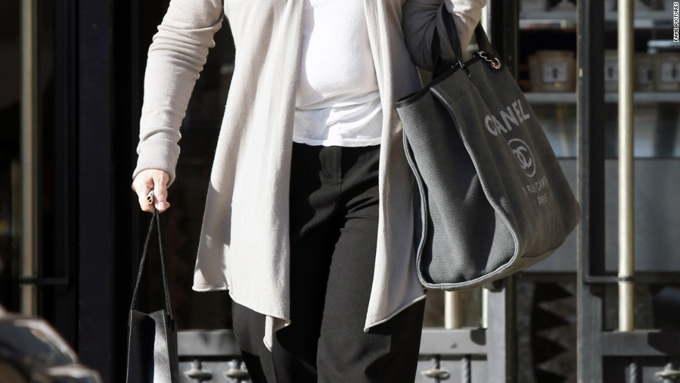 Sharon Osbourne goes shopping in Los Angeles.