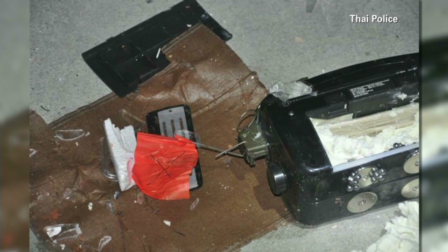 Bomb photos in alleged Thailand plot