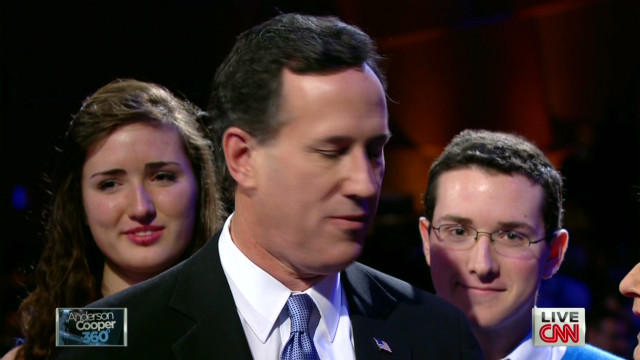 Santorum felt 'smacked around a bit'