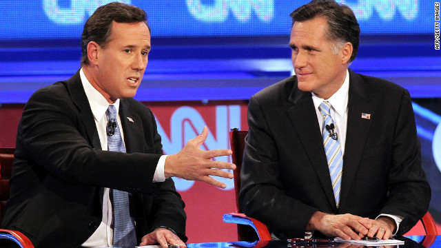 GOP candidates jab each other, media