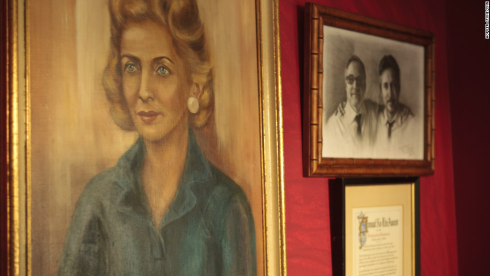 """""""Mrs. Cohen,"""" a painting Tent bought about 15 years ago, dominates one wall. He's taken it to practically every editing room he's worked in."""