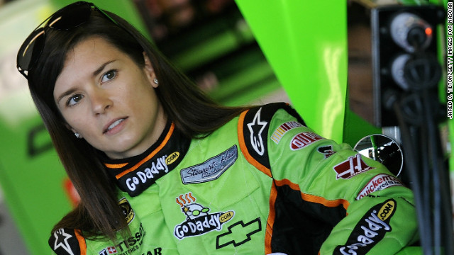 Danica Patrick enters world of NASCAR