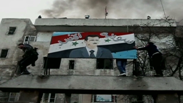 On the front lines of Homs battle