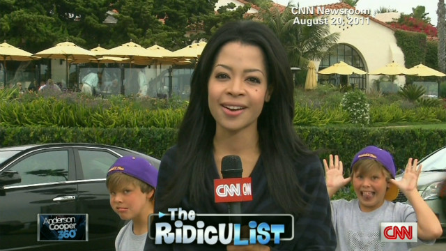A hilarious look at TV journalists' candid background moments.