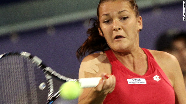 Polish tennis star Agnieszka Radwanska claimed the eighth title of her career in Dubai on Saturday.