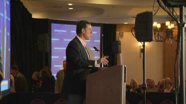 Romney, Santorum face off in Michigan