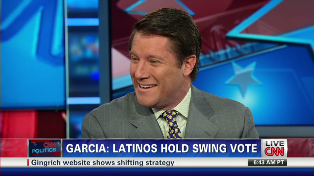 Charles Garcia: Latinos hold swing vote
