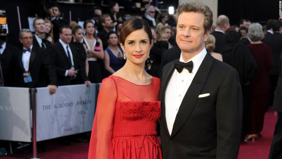 Livia Giuggioli, Colin Firth