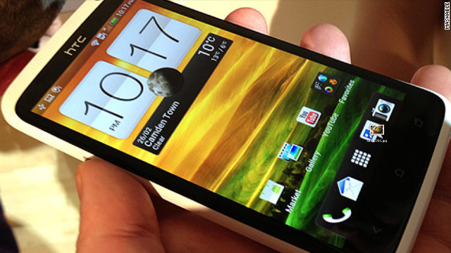 The HTC One X features a 4.7-inch screen and a Tegra 3 quad-core processor.