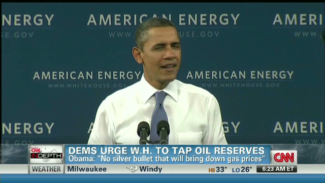 Will White House tap oil reserves?