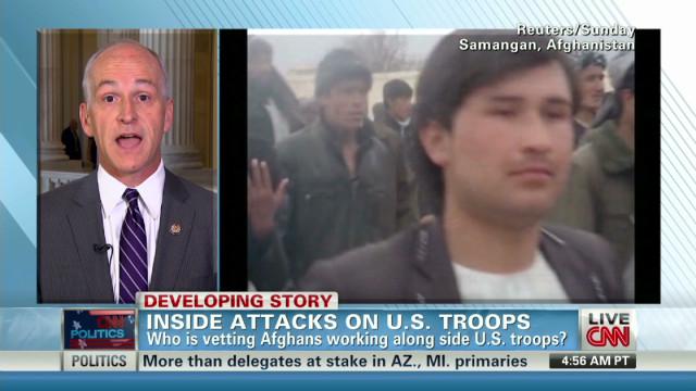 Preventing 'insider attacks' on military