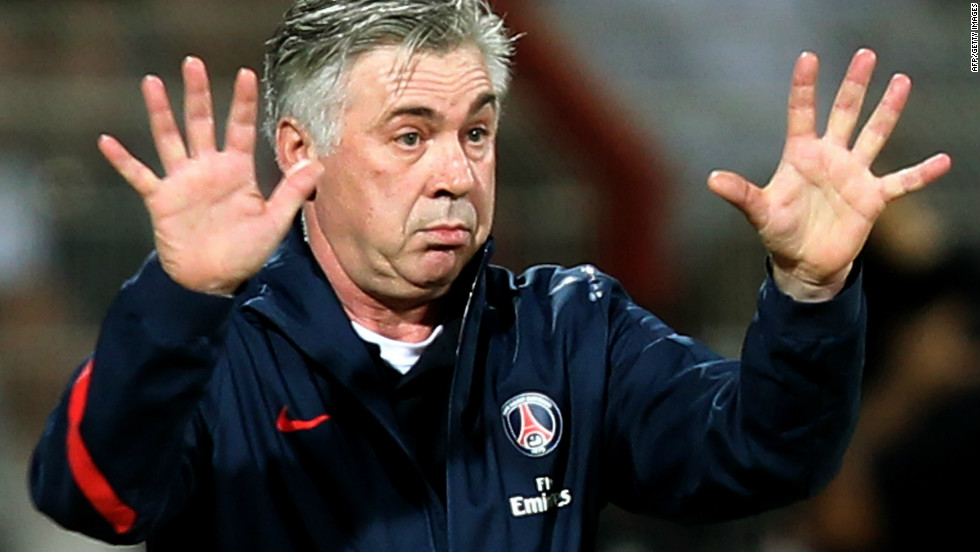 PSG appointed former Juventus and Chelsea coach Carlo Ancelotti in December in a bid to secure the club's first French league title since 1994. The vastly experienced Italian has won the presitgious European Champions League twice with AC Milan.