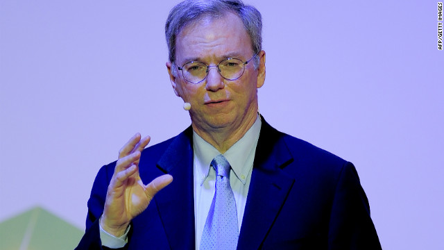 Google's Eric Schmidt told the Mobile World Congress that technology could be a great leveler.