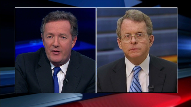 Mike DeWine on Romney and Santorum