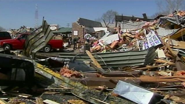 Massive storm damage in Branson