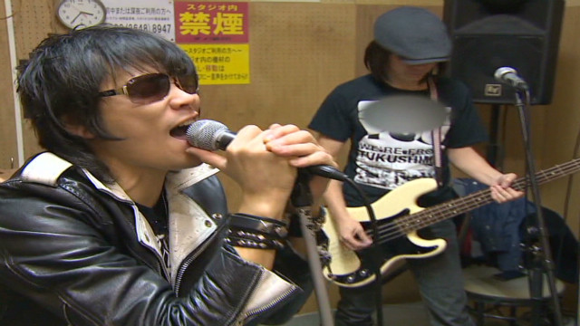 Band sings about Fukushima disaster