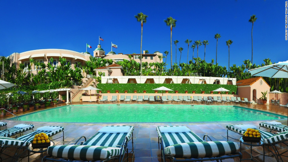 Hollywood stars have long frequented the bungalows at the Beverly Hills Hotel.