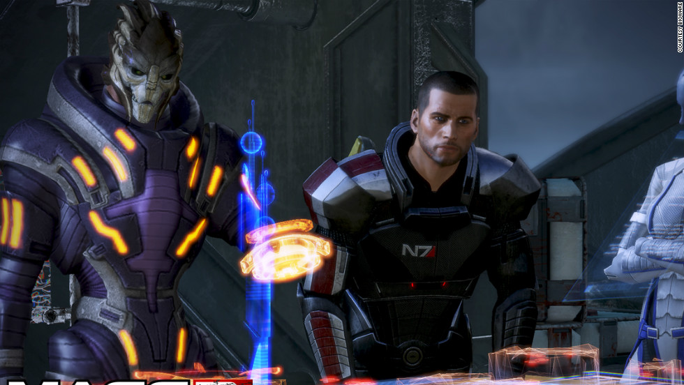 "In ""Mass Effect 3,"" the final chapter in a planned trilogy, players must unite the galaxy to recapture Earth from alien invaders."