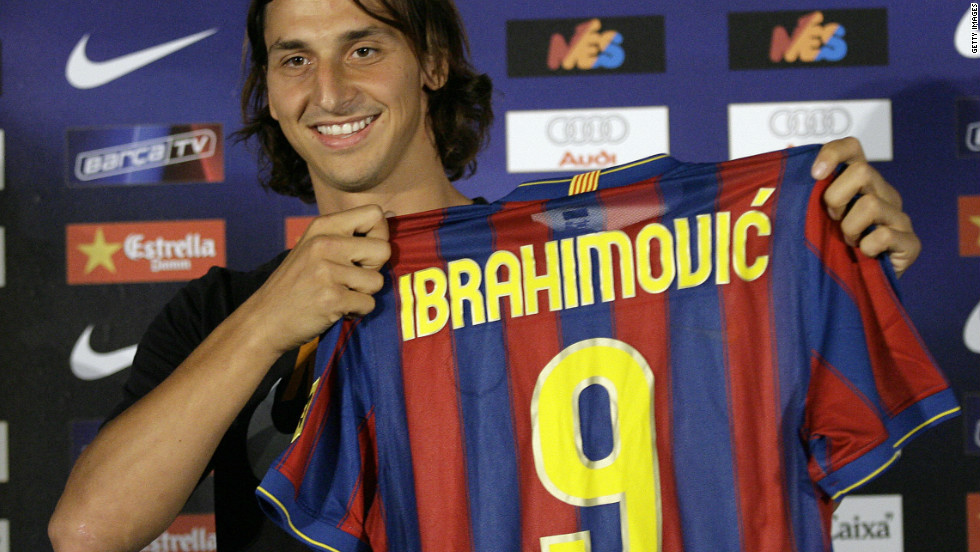 Zlatan Ibrahimovic moved to Real's archrivals Barcelona during the same transfer window. Barca paid Inter Milan a reported $65 million for the Sweden striker, but he lasted only one season before returning to Italy with AC Milan.
