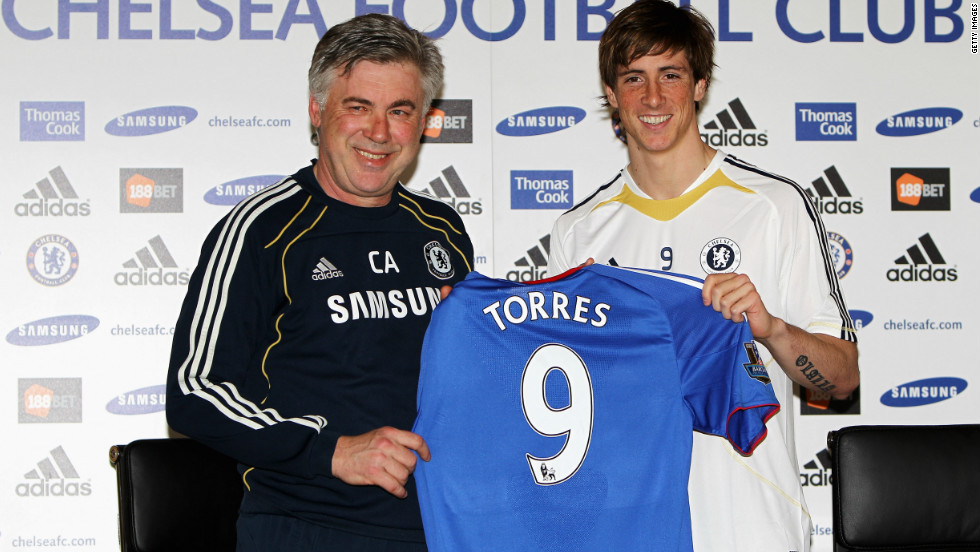 Fernando Torres swapped Chelsea for Liverpool on the final day of the January 2011 transfer window. After moving for a British-record transfer fee, believed to be in the region of $80 million, Torres has scored just five goals in a little over 12 months with the club.