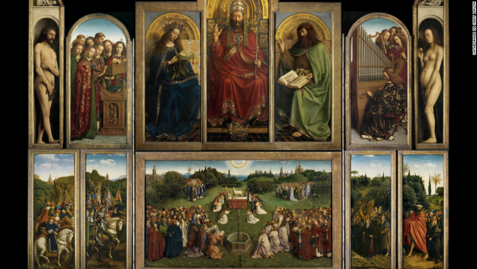 Thought to be one of the most famous panel paintings in the world, the Ghent Altarpiece, completed in 1432, can now be viewed on a specially-designed, open source website.