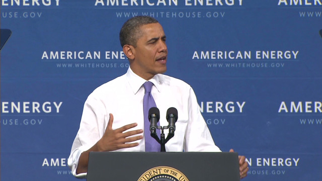 Obama: We can't just drill