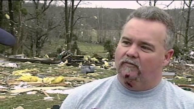 Man survives trailer flipping 5 times