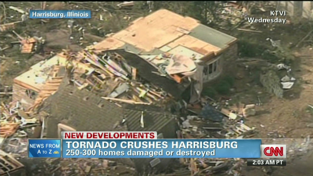 Harrisburg hopeful despite damage