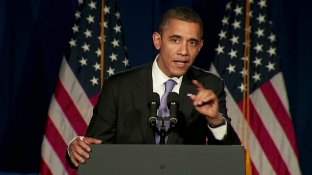 Obama to heckler: No war in Iran yet