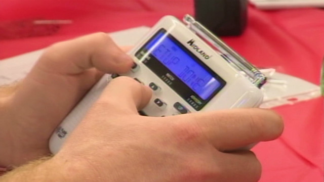 Alabamans get radios to prep for storms