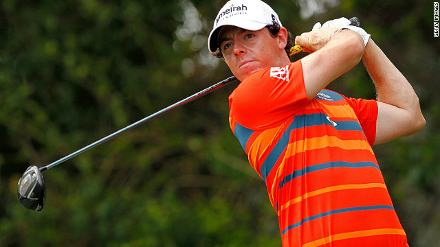 Northern Ireland's Rory McIlroy tops the leaderboard in Florida heading into Sunday's finale