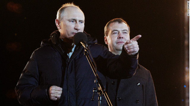 Protesters 'intend to march on Kremlin'