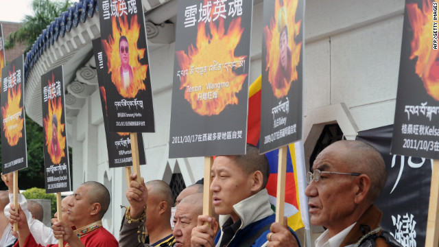 Self-immolations on rise in Tibet
