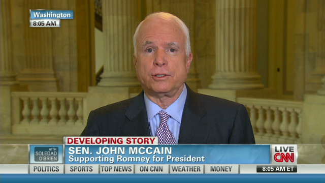 McCain: Obama needs 'red lines' for Iran