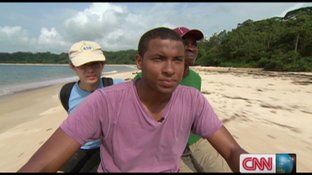 Searching for endangered turtles