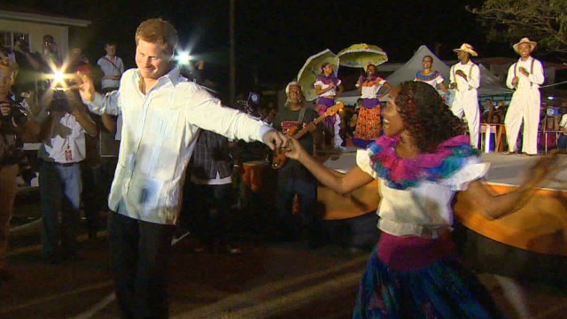 Prince Harry's royal visit to paradise