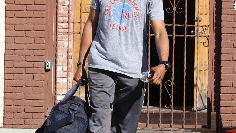 "Jaleel White leaves dance rehearsal for ""Dancing With the Stars"" in Los Angeles."