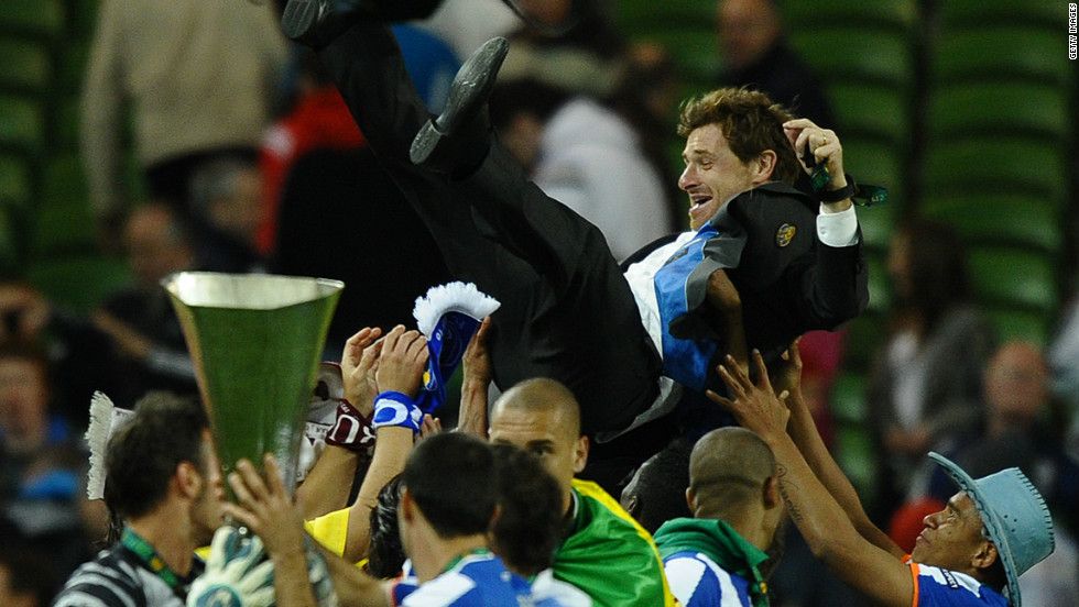 Andre Villas-Boas rose to prominence as the coach of Porto's all-conquering team last season. He guided his team to a league, domestic cup and Europa League treble, drawing comparisons with the club's former coach and current Real Madrid boss Jose Mourinho.