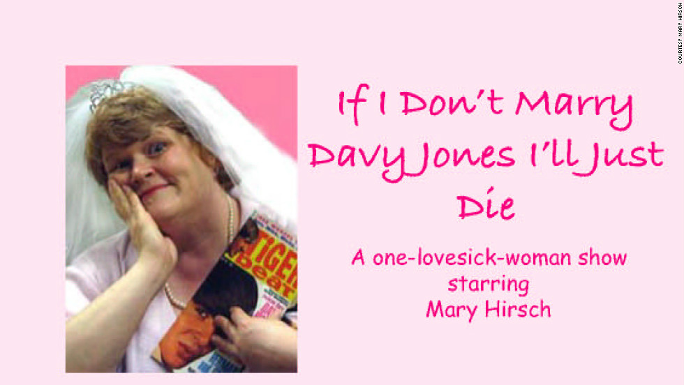 Mary Hirsch named a Jones-themed show after one of her diary entries.