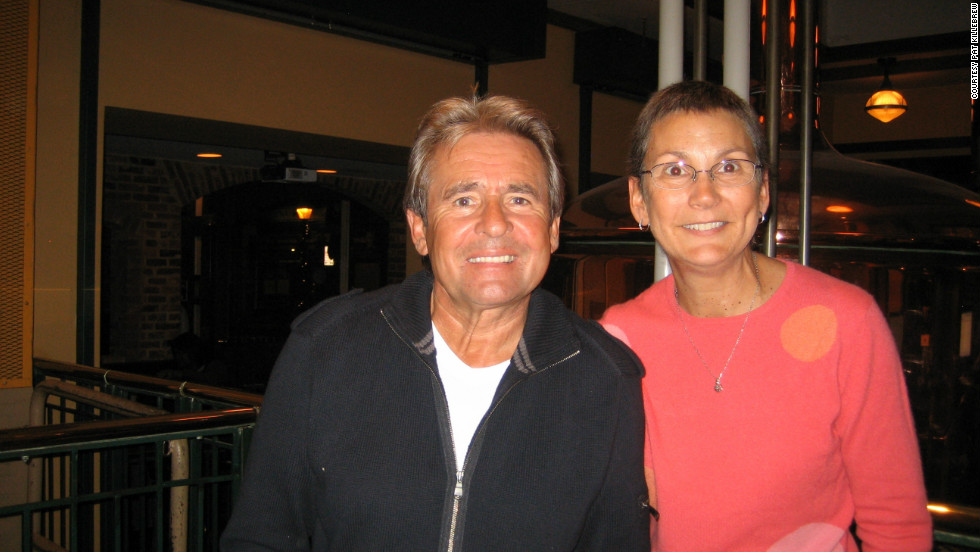 "This was only Pat Killebrew's second time meeting Davy Jones, in 2010, though she had been to many of his concerts since 1986 and had been a fan since the Monkees began. ""I taught my children how to do the Monkees walk. We have a standing joke as to which of them inherits my Monkees scrapbook and photos and bobbleheads and other memorabilia when I'm gone."""
