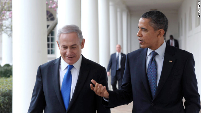 President Barack Obama meets with Israeli Prime Minister Benjamin Netanyahu at the White House in March.