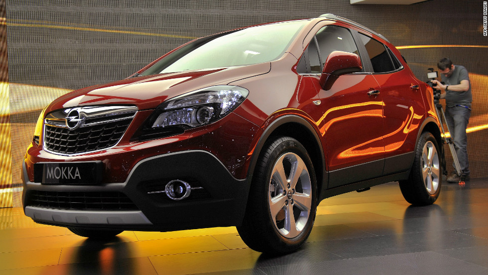 The Opel Mokka, which derives its name from the Mocha coffee bean, makes its exhibition debut during press day.