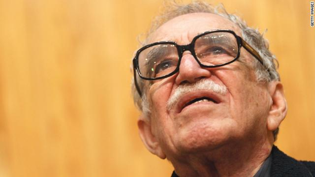 Famed author Gabriel Garcia Marquez, seen here in 2007, was admitted to a hospital in Mexico earlier this week.