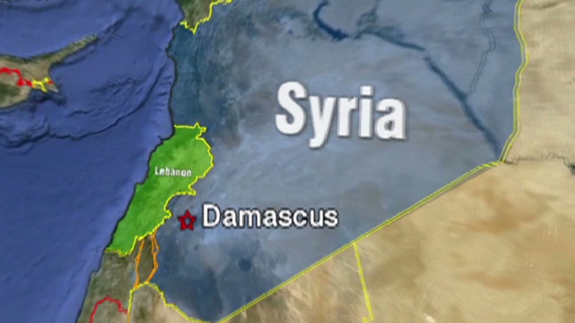 Activists: Syria escape route targeted
