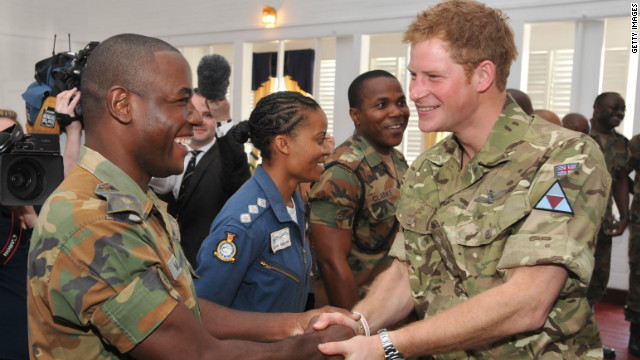 Prince Harry charms Jamaica