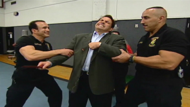 2005: Rick Sanchez zapped with stun gun