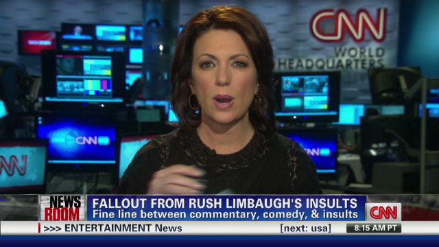 Fallout from Rush Limbaugh's Insults