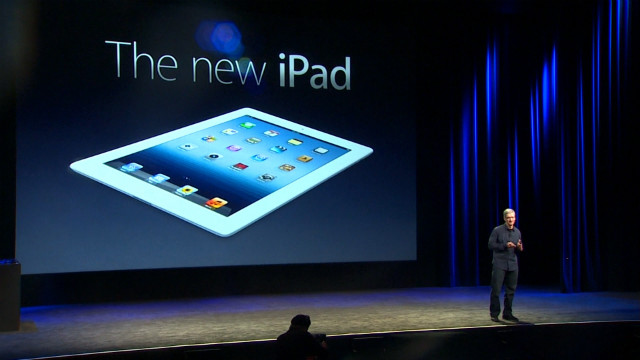 New iPad: Faster, HD, better camera