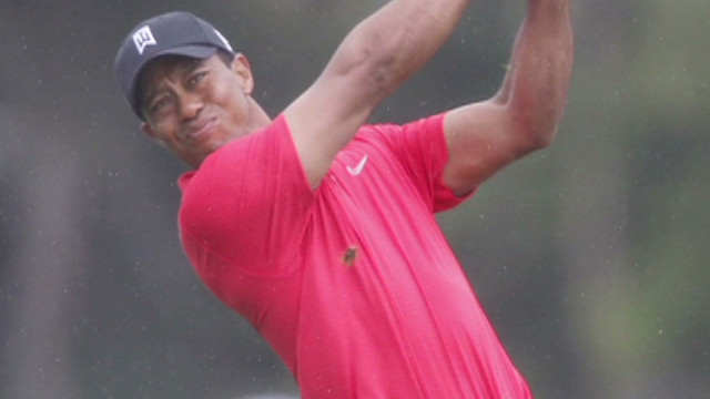 Tiger Woods is back on track