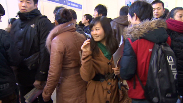China's job seekers